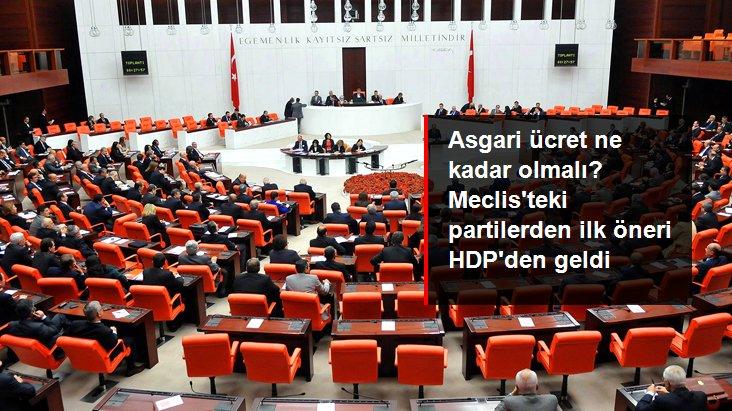 Asgari ücret zammı için ilk öneri HDP'den geldi: 4 bin TL olsun