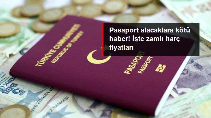 Pasaport harçlarına zam geldi! İşte yeni fiyatlar