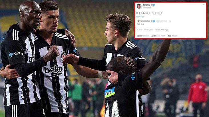 Tarihi zaferin ardından Beşiktaş'tan F.Bahçe'ye olay yaratacak üç gönderme birden