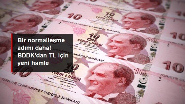 Son dakika: BDDK, bankaların yurt dışı kuruluşlarla yapacağı TL işlemlerinde sınırı artırdı