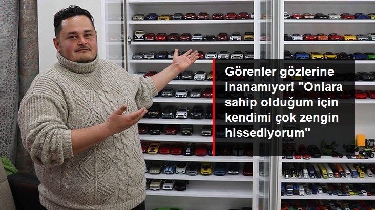 Fabrika işçisinin model otomobil tutkusu: 600 oyuncaklı koleksiyonu var