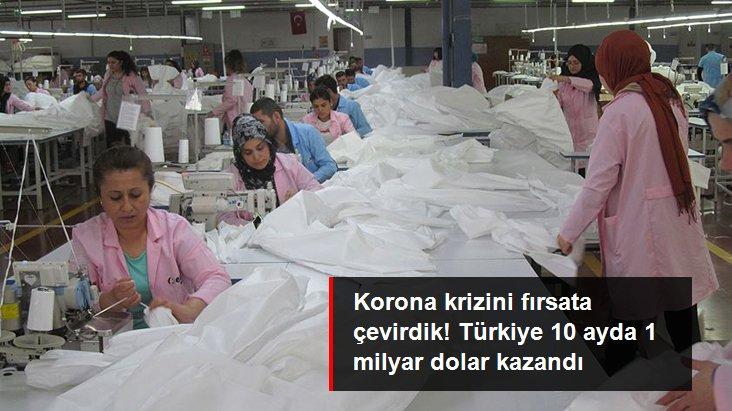 Türkiye'nin medikal tekstil ihracatı 10 ayda 1 milyar doları aştı