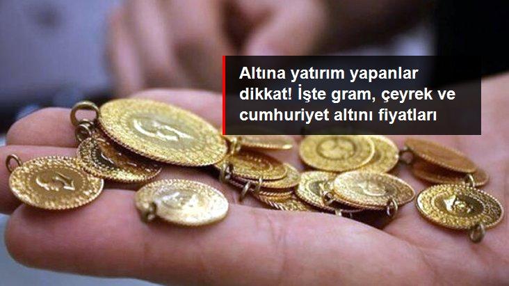 Güne yükselişle başlayan altının gram fiyatı 461,5 liradan işlem görüyor