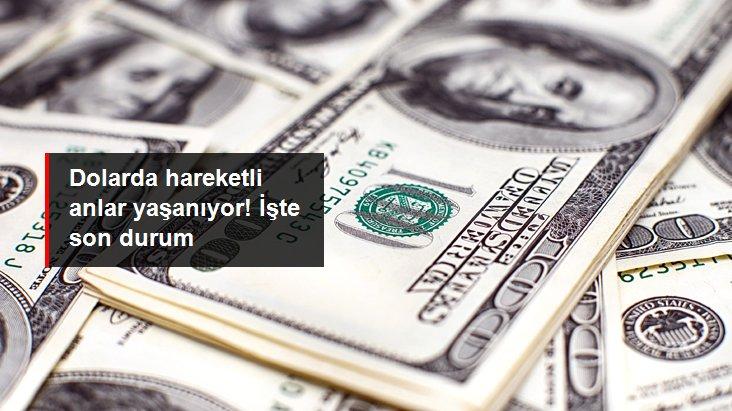 Güne yükselişle başlayan dolar 7,79'dan işlem görüyor