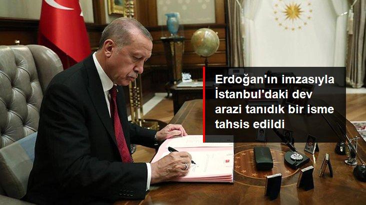 İstanbul'daki dev arazi ünlü iş adamı Ethem Sancak'ın yeğeninin şirketine tahsis edildi