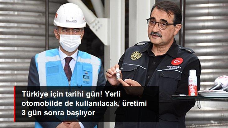 Son Dakika: Yerli otomobilin bataryasında da kullanılacak! Türkiye lityum üretimine 7 Aralık'ta başlıyor