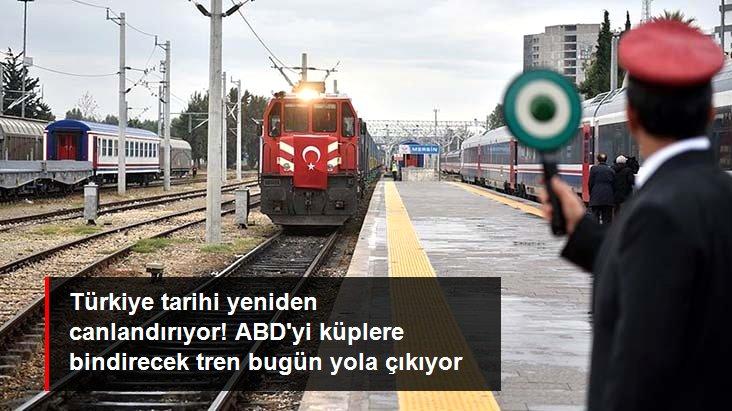 Son Dakika! Türkiye'den Çin'e gidecek ilk ihracat treni bugün İstanbul'dan yola çıkıyor