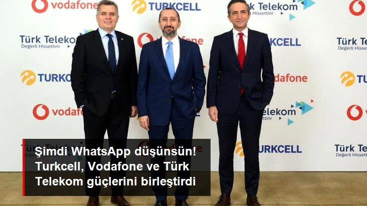 Turkcell, Türk Telekom ve Vodafone yerli mesajlaşma ve sosyal medya uygulamaları için güçlerini birleştirdi