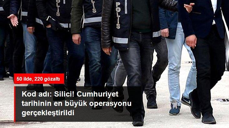 Cumhuriyet tarihinin akaryakıta bağlı en büyük vergi kaçakçılığı operasyonu: 50 ilde, 220 gözaltı