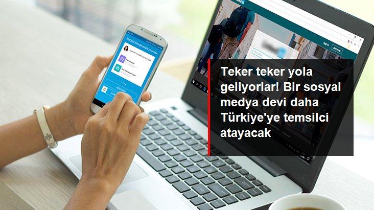 Sosyal paylaşım platformu 'LinkedIn' de Türkiye'ye temsilci atayacak