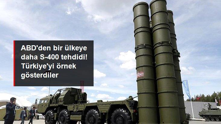 ABD'den Hindistan'a S-400 tehdidi: Türkiye'ye benzer yaptırımları uygularız