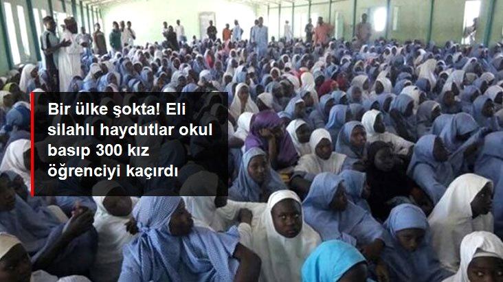 Nijerya'da silahlı kişilerin okula düzenlediği saldırıda yüzlerce kız öğrenci kaçırıldı