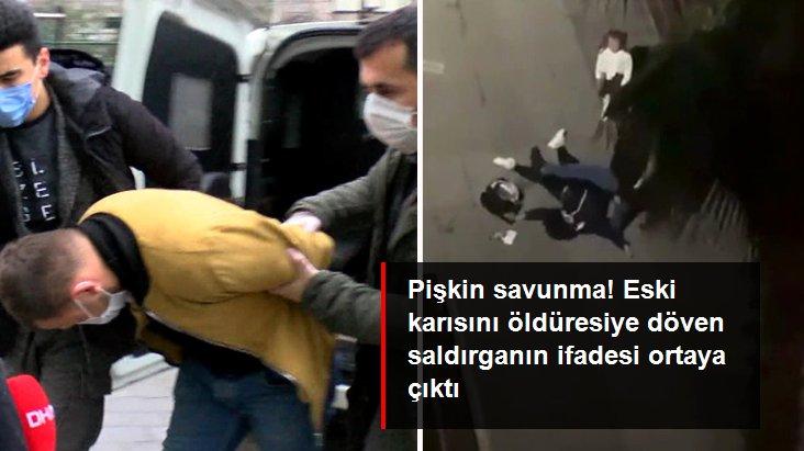 Kızının gözleri önünde eski karısını öldüresiye döven saldırgandan pes dedirten sözler: Bir anda gözüm döndü