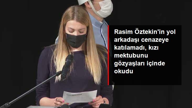 Derya Şensoy, gözyaşları içinde babası Ferhan Şensoy'un Rasim Öztekin'e yazdığı mektubu okudu