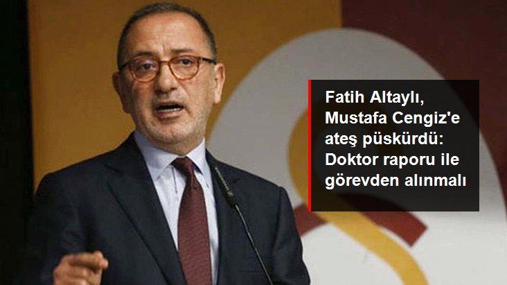 Fatih Altaylı, Mustafa Cengiz e ateş püskürdü: Doktor raporu ile görevden alınmalı