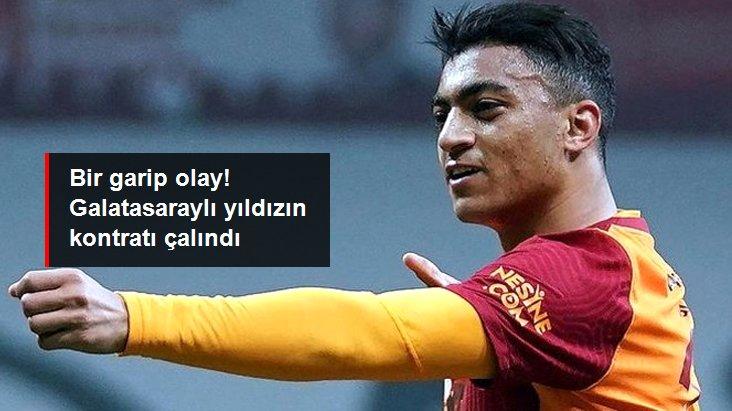 Bir garip olay! Galatasaraylı yıldızın kontratı çalındı