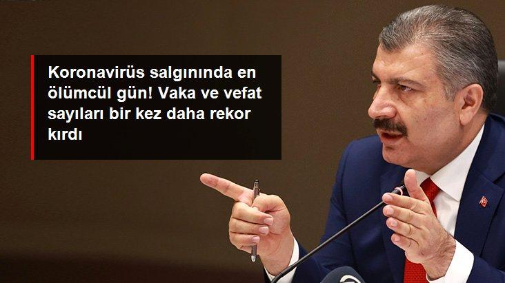 Son Dakika: Türkiye'de 14 Nisan günü koronavirüs nedeniyle 279 kişi vefat etti, 62 bin 797 yeni vaka tespit edildi