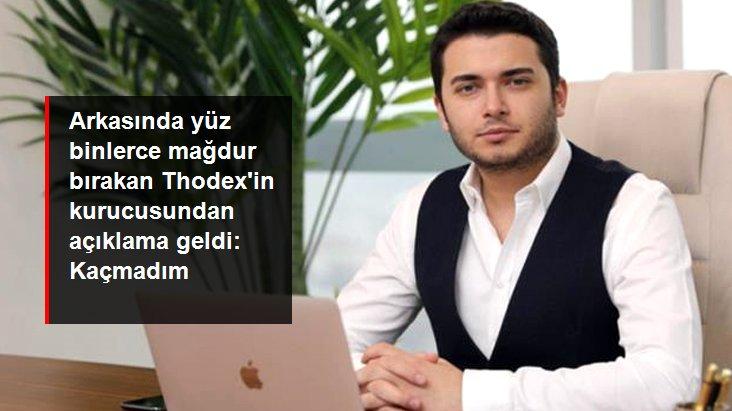 Son Dakika: Thodex'in kurucusu Faruk Fatih Özer kaçtığı iddialarını yalanladı: Yatırımcılarla görüşmeye gittim