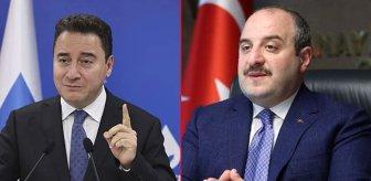Bakan Varank, Babacan'ın 'Fren Ali' sözlerini eleştirdi: Kore yemeği yiyemeyince kriz çıkaran kimdi?