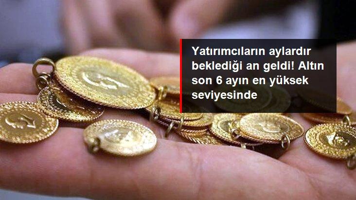Altının gram fiyatı son 6 ayın en yüksek seviyesi olan 485 liradan işlem görüyor