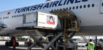 Koronavirüse karşı milyonların umudu olan uçak Türkiye'ye iniş yaptı