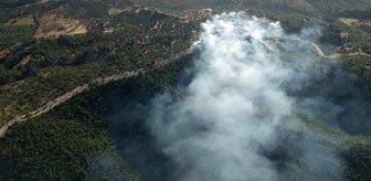 Bodrum'da korkutan yangın! Ekipler, müdahale etmeye devam ediyor