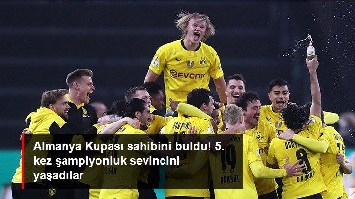 Almanya Kupası sahibini buldu! 5. kez şampiyonluk sevincini yaşadılar
