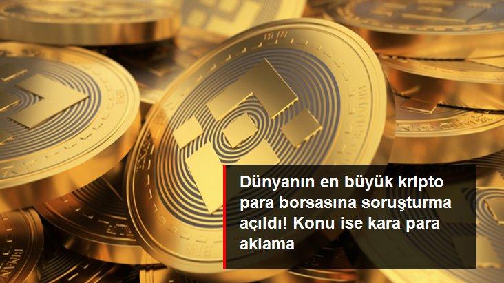 Dünyanın en büyük kripto borsası Binance'e ABD'de soruşturma açıldı