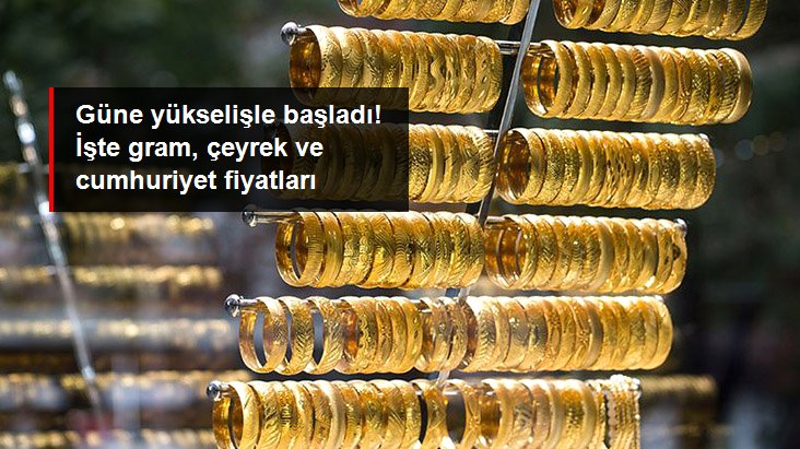 Altının gram fiyatı 498 lira seviyesinden işlem görüyor