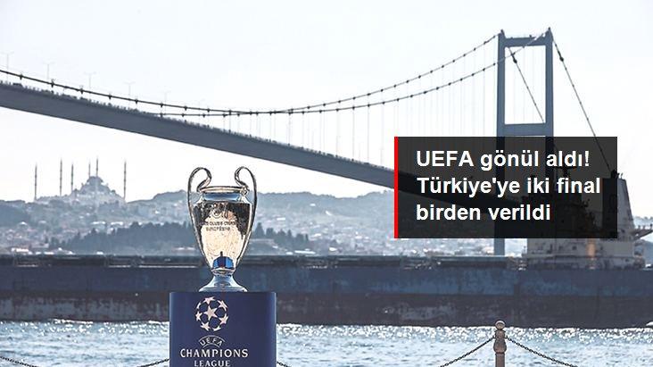 UEFA gönül aldı! Türkiye ye iki final birden verildi