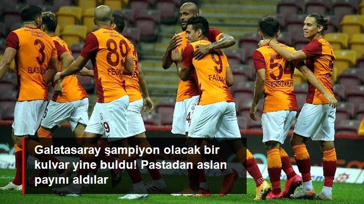 Galatasaray şampiyon olacak bir kulvar yine buldu! Pastadan aslan payını aldılar