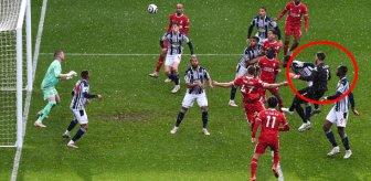 Kaleci 90+5'te attı! Beşiktaş taraftarını yıkan gol