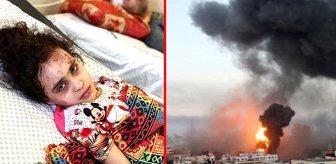 Gazze'de umutlu bekleyiş sevinç çığlıklarıyla son buldu! 6 yaşındaki Filistinli çocuk enkazdan sağ kurtarıldı