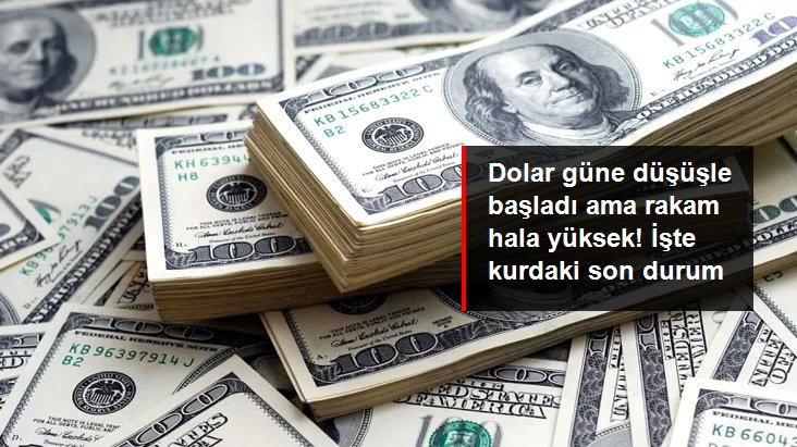 Güne düşüşle başlayan dolar 8,65'ten işlem görüyor