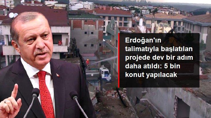 Cumhurbaşkanı Erdoğan'ın talimatıyla başlatılan kentsel dönüşüm projesinde bir adım daha atıldı: Üsküdar'da 5 bin konut yapılacak