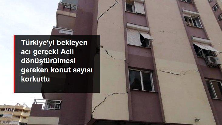 Bakan Kurum Türkiye için acı gerçeği bu sözlerle duyurdu: Acil dönüştürülmesi gereken 1,5 milyon konut var