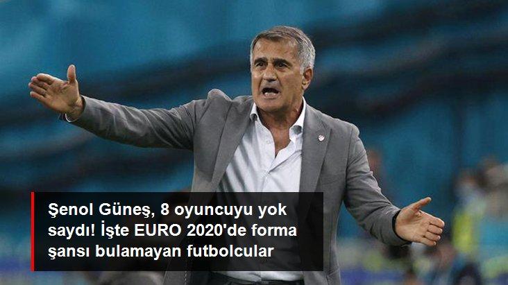 Şenol Güneş, 8 oyuncuyu yok saydı! İşte EURO 2020 de forma şansı bulamayan futbolcular