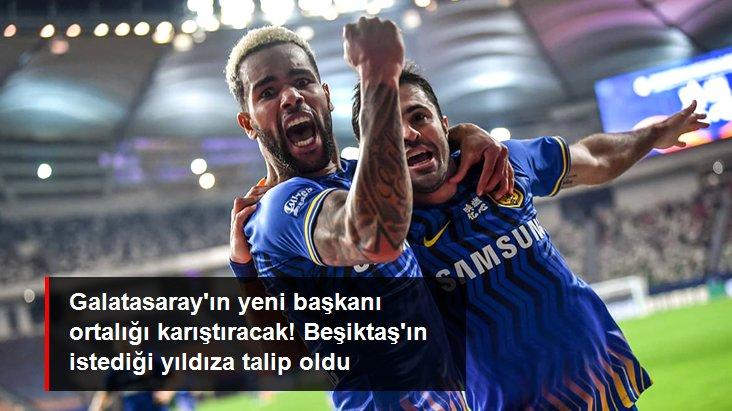 Galatasaray ın yeni başkanı ortalığı karıştıracak! Beşiktaş ın istediği yıldıza talip oldu