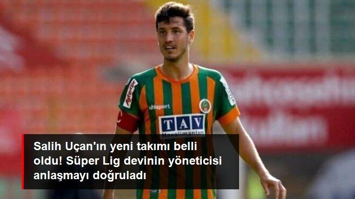 Salih Uçan ın yeni takımı belli oldu! Süper Lig devinin yöneticisi anlaşmayı doğruladı
