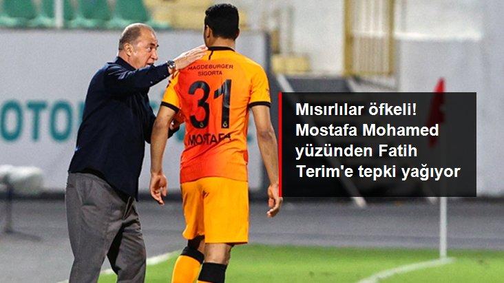 Mısırlılar öfkeli! Mostafa Mohamed yüzünden Fatih Terim e tepki yağıyor
