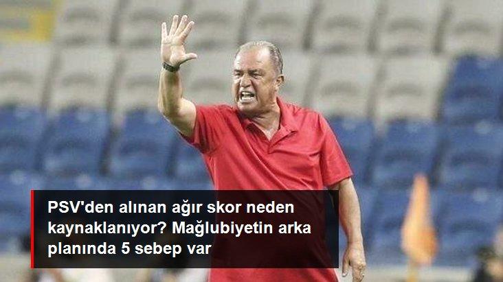 PSV den alınan ağır skor neden kaynaklanıyor? Mağlubiyetin arka planında 5 sebep var