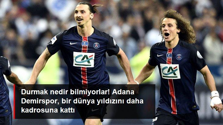 Durmak nedir bilmiyorlar! Adana Demirspor, bir dünya yıldızını daha kadrosuna kattı