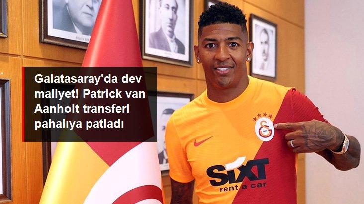 Galatasaray da dev maliyet! Patrick van Aanholt transferi pahalıya patladı