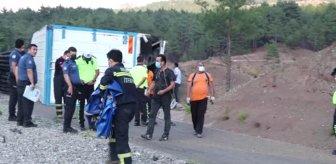 Kaçış rampası ölüm rampasına dönüştü! Kamyondaki 4 kişi feci şekilde can verdi