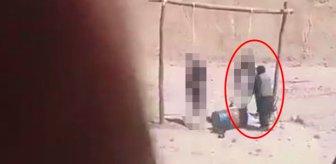 Taliban'ın korkunç idam anı! Darağacındaki esirin son hareketi tüyleri diken diken etti