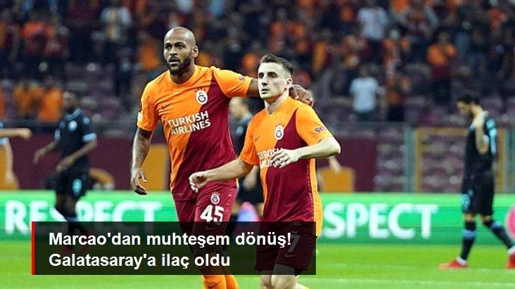 Marcao dan muhteşem dönüş! Galatasaray a ilaç oldu
