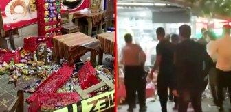 Çay satan büfeden alkol almak istedi, ortalık savaş alanına döndü: 6 yaralı