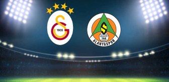 Alanya, Galatasaray'ın baskısını kırmayı başardı! Canlı anlatım