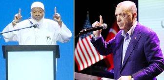 Cumhurbaşkanı Erdoğan'dan önce kürsüye çıkıp bir cümle kurdu, salon alkışlarla inledi