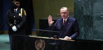 BM Genel Kurulu'nda konuşan Erdoğan'dan dünyaya göç resti! Salon bu sözlerle inledi
